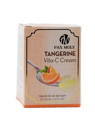PaxMoly Tangerine Vita C Cream - C Vitaminli Nemlendirici Krem Renksiz